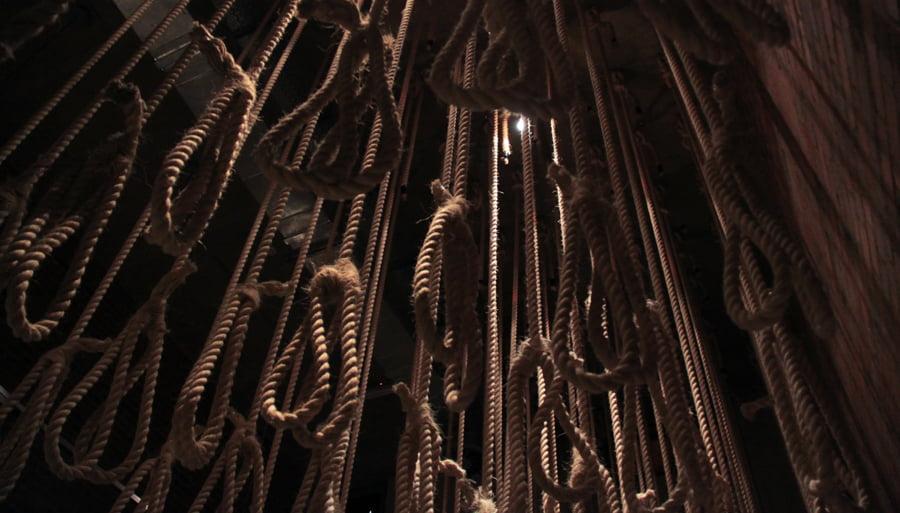 Apartheid museum ropes