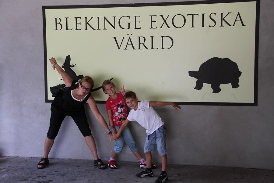 Blekinge exotiska värld!