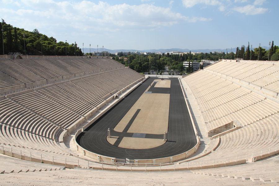 Panathenaic Stadium (Panathinaiko).