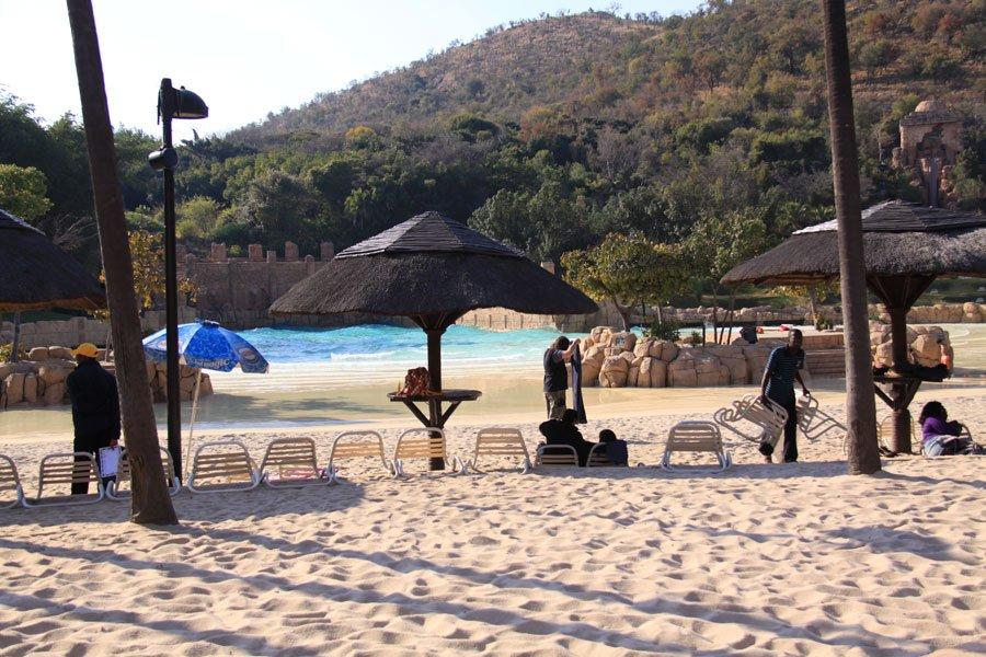 Man-made-beach