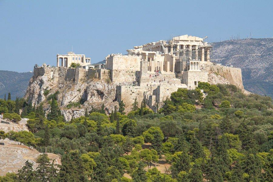 Utsiktsplats i Aten