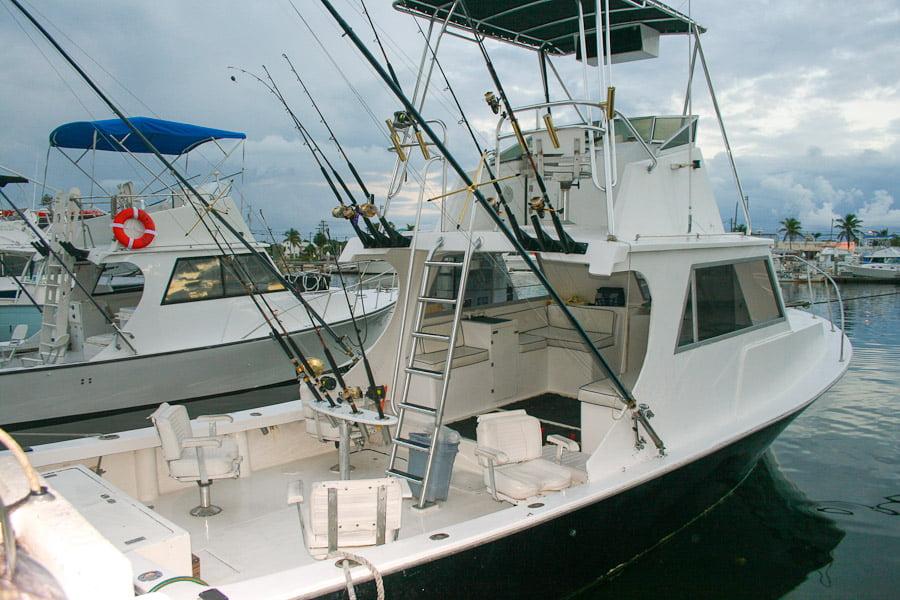 Djuphavsfiske i Key West