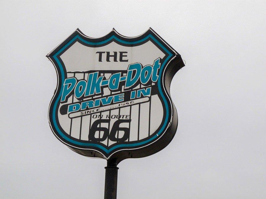 Polka-Dot-Drive-In Route 66