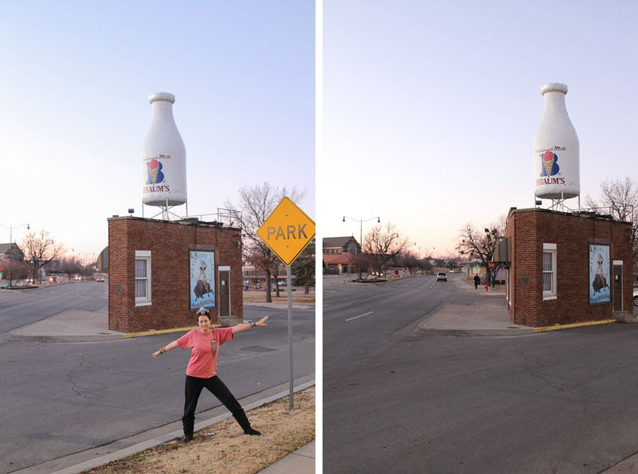 Giants on Route 66: Milk Bottle