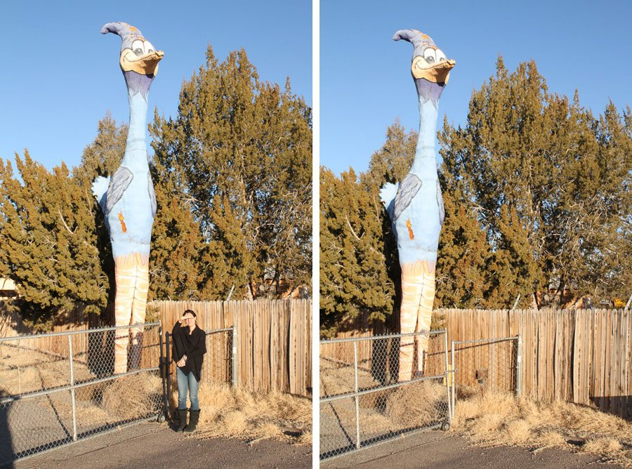 Giants on Route 66: Giant Roadrunner