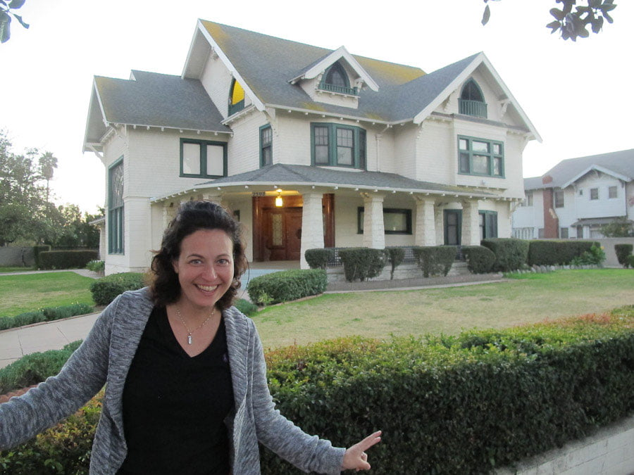 House from the filming of Six Feet Under