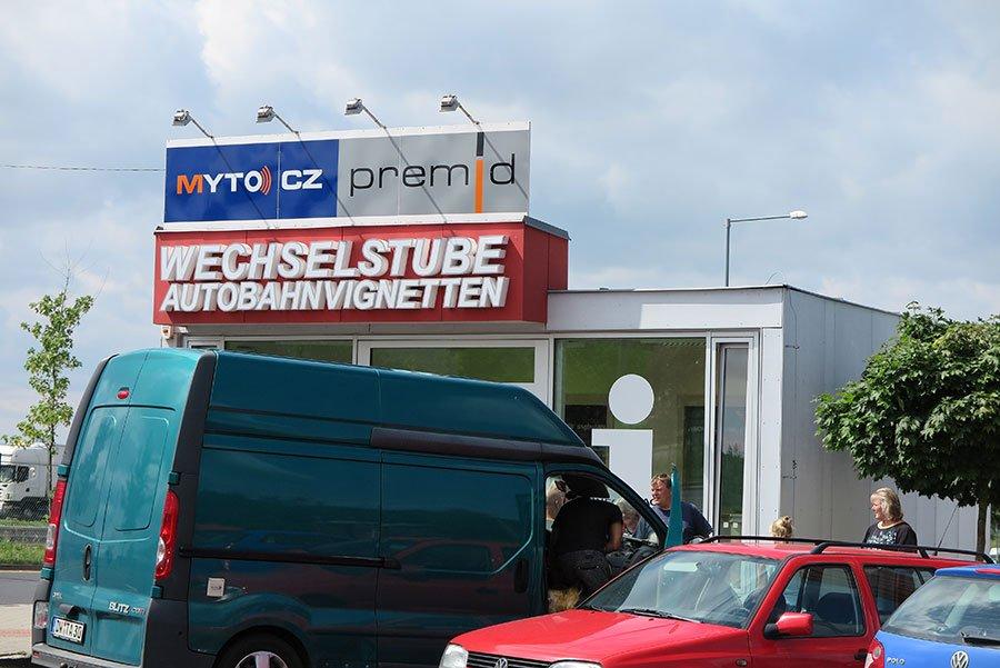 Vignette - Biljett till bilen för att få köra i Tjeckien