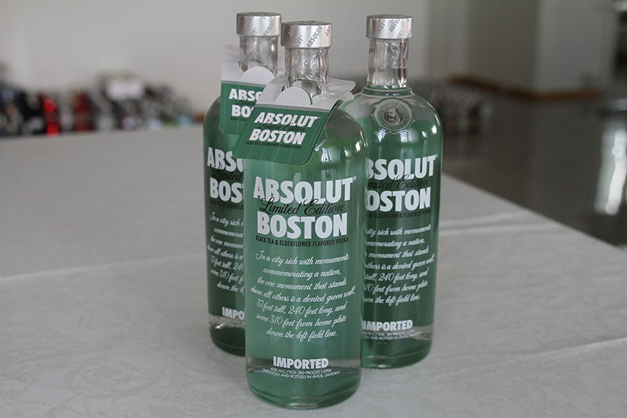 Absolut Boston 3 x 1 liter
