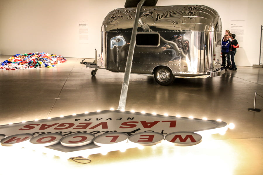 Las vegas art trailer from ARoS, Aarhus, Denmark