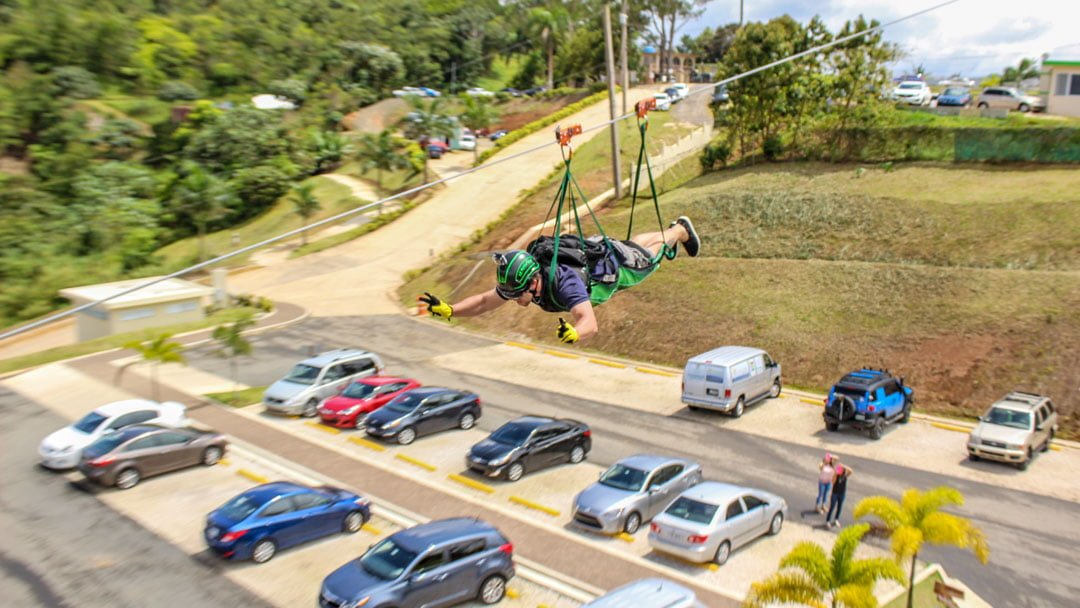 World longest Zip line Puerto Rico