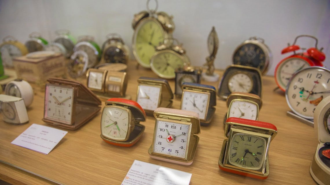 Clock museum in Evora, Portugal