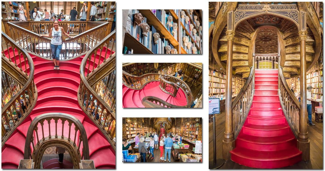 Harry Potter's library is in Porto