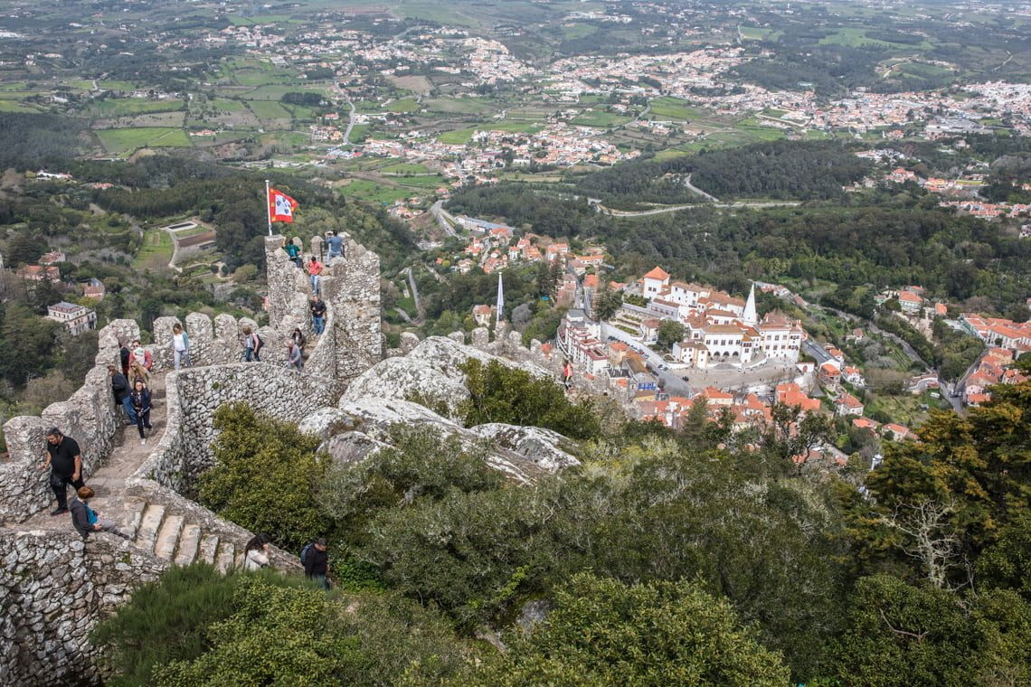 Castle of the Moors in Sintra