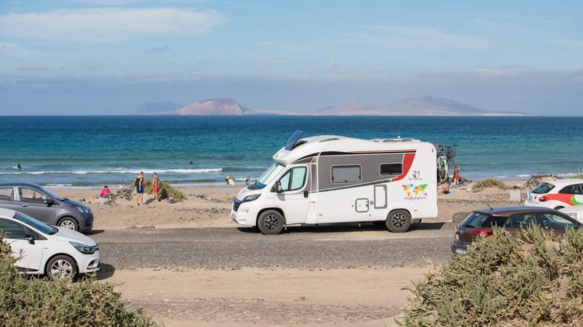 Wildcamping in Lanzarote