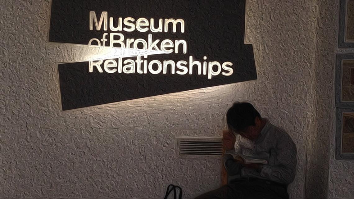 Museum of Broken Relationships, Zagreb, Croatia