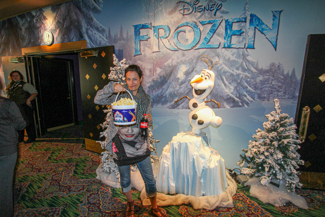 Frozen - The premiere at El Captain Theatre