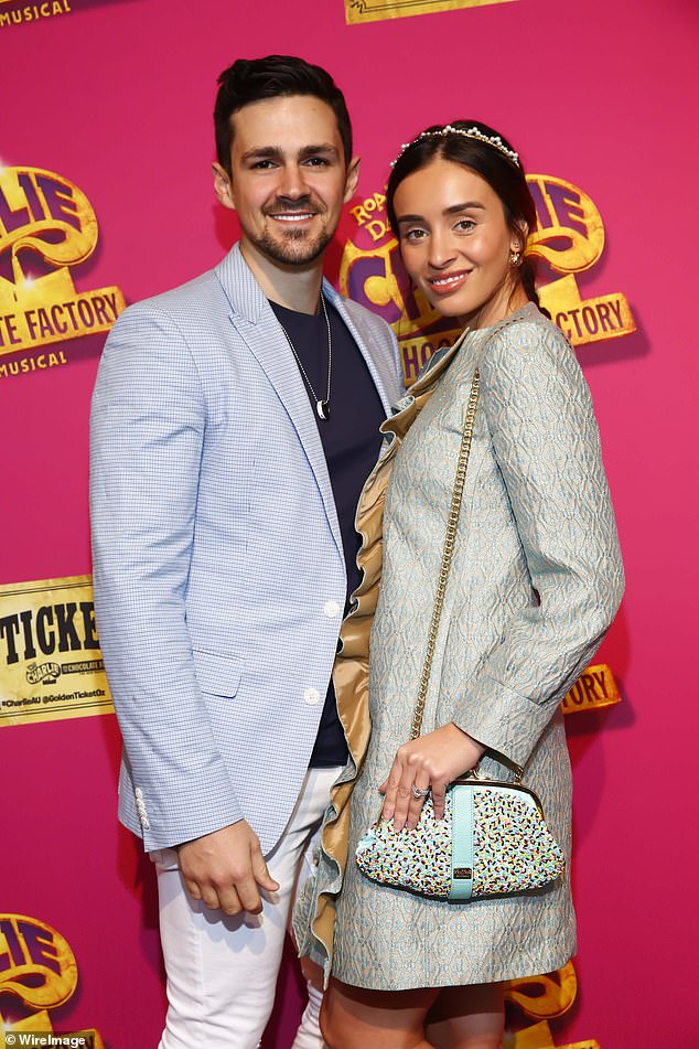 Plans: Zana and her husband, Gianni Romano (left), who starred on My Kitchen Rules in 2016, recently purchased a plot of land in Brighton's prestigious Golden Mile
