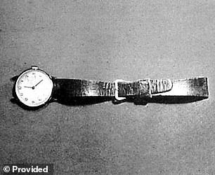 According to the Case Breakers, the watch was splattered with paint; Poste worked as a house painter since the early 1960s