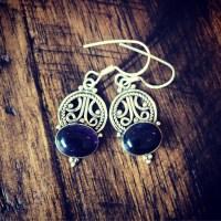 Amethyst 925 Sterling Silver Earrings | finalsilver