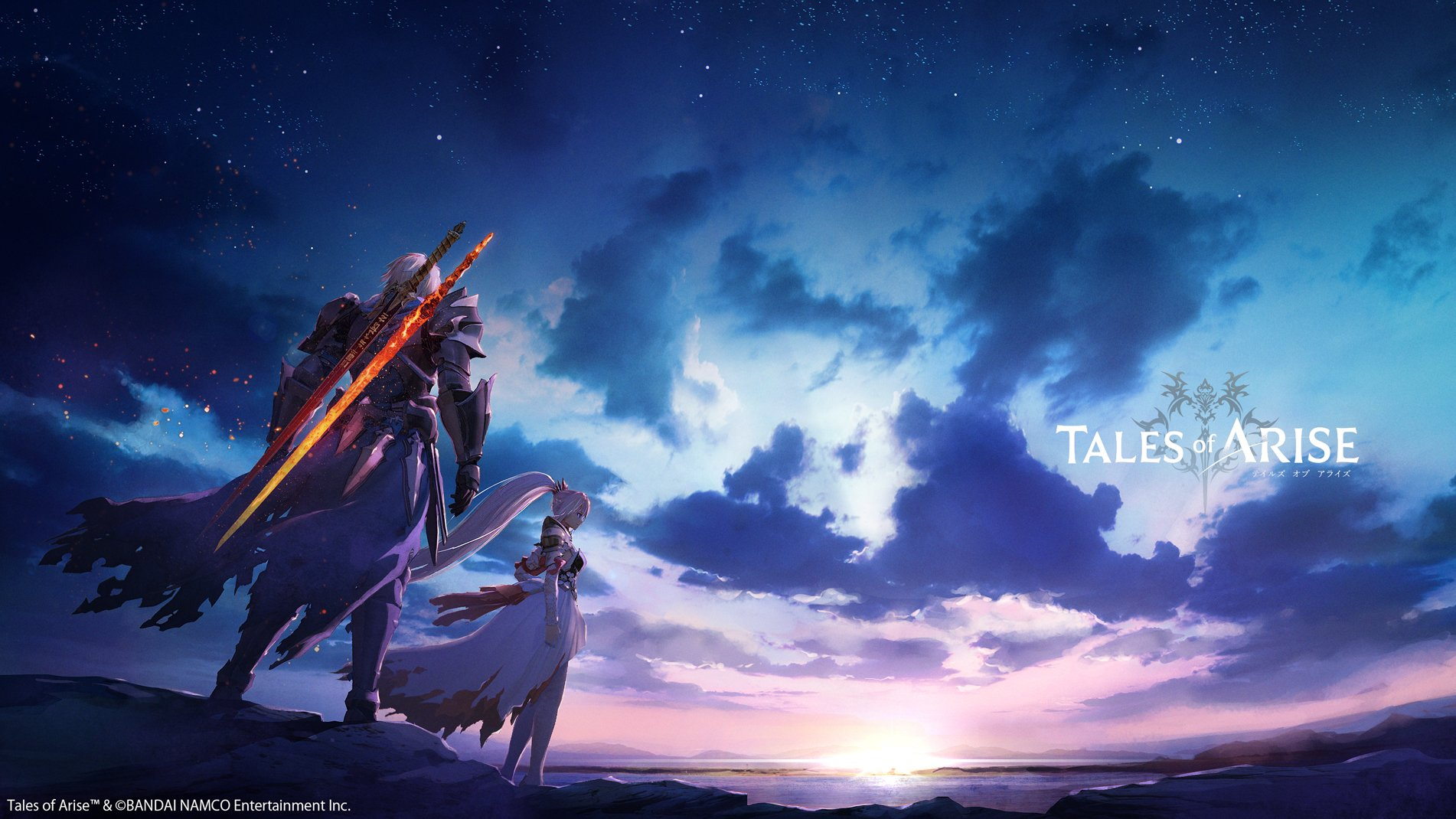 Tales of Arise key art