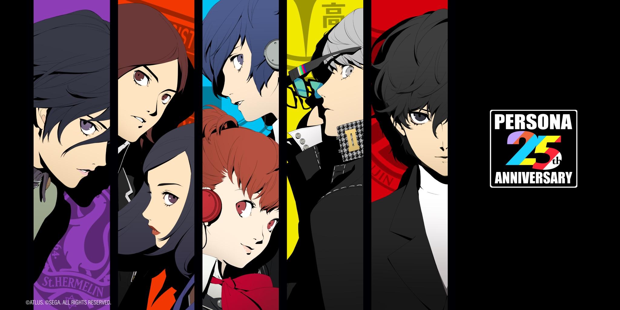 Persona 25th Anniversary art