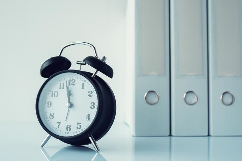 Tempo é um item precioso! Não desperdice