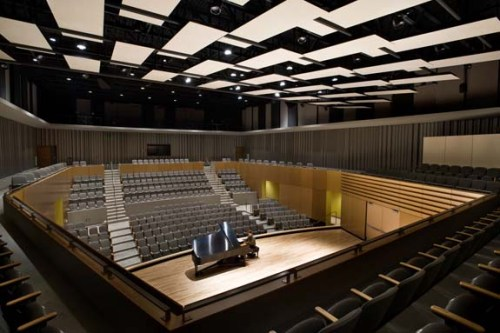 An auditorium in the Visual and Performing Arts Village at Cabrillo College in Santa Cruz County, California. (Submitted photo)