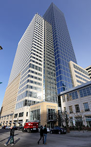 The 1.9 million-square-foot Target Plaza in downtown Minneapolis is one of the largest Energy Star-rated buildings. (File photo: Bill Klotz)