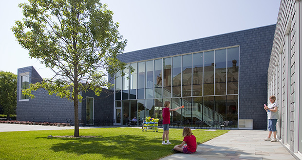 The Swedish Institute's expansion, which opened in 2012, received LEED Gold certification in May 2013. Minnesota placed 10th nationally last year for LEED certification. A challenging climate may be a key reason the projects are relatively common here. (File photo: Matt M. Johnson)