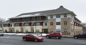Lawmakers have proposed a $100 million bonding program to help bolster development of affordable housing projects like the 44-unit Fort Roads Flats in St. Paul, which opened in December 2012 and offers rental subsidies and supportive services. (File photo: Bill Klotz)