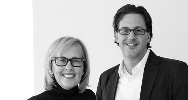Matthew Kreilich, right, will join Julie Snow in leading the newly renamed Minneapolis-based Snow Kreilich Architects. (Submitted photo)