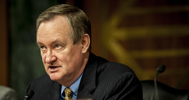 "Sen. Mike Crapo, R-Idaho, says it's important to avoid the toxic mortgages that pushed the country into financial crisis. ""There probably will be a little bit of additional cost in some senses, but there will be actually savings and efficiencies in other contexts,"" Crapo said of a draft proposal to replace Fannie Mae and Freddie Mac with a government-backed mortgage-bond insurer. (Bloomberg News file photo)"