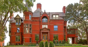 This four-story mansion at 266 Summit Ave. in St. Paul, built in 1884, has sold to a couple hoping to update the property while respecting its long history. (Submitted photo: Joe VanRyn/Van's Virtuals)
