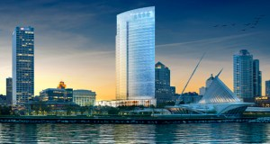 Construction is expected to start this fall on a 32-story tower in downtown Milwaukee that will be the new home for Northwestern Mutual Life Insurance. The insurer selected a general contractor for the project this week. (Submitted rendering: Northwestn Mutual Life Insurance)