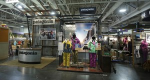 "Among the nation's public benefit corporations is Ventura, California-based Patagonia. The outdoor retailer has committed to fulfilling a ""general public benefit,"" as measured by a third-party standard. This photo shows the Patagonia display at the 2013 Outdoor Retailer show in Salt Lake City. (AP file photo)"