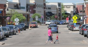 The Woodbury Lakes shopping center, on the southeast quadrant of Radio Drive and Interstate 94 in Woodbury, is 89 percent leased. (Staff photo: Bill Klotz)