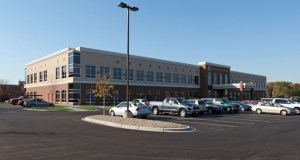 The Fridley Medical Center, at 480 Osborne Road NE, was constructed in 2010. (Submitted photo: CoStar Group)