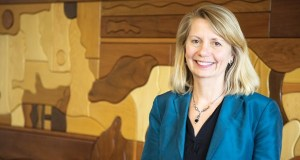 """Former Sen. Ellen Anderson has been the head of the University of Minnesota's Energy Transition Lab for about a month. I'll be trying to identify where there are really important things happening where they could use a little bit of assistance on legal or policy analysis."""" (Photo: Kevin Featherly)"""