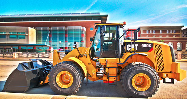 The Project Green Fleet Program aims to reduce emissions in diesel construction vehicles, such as this Caterpillar wheel loader. (Submitted photo: East End Productions)