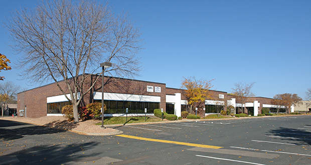The Eden Woods Business Center includes the properties at 10200, 10250 and 10300 Valley View Road in Eden Prairie. The 10250 building (pictured) offers 86,296 square feet of space, according to CoStar Group. (Submitted photo: CoStar Group)