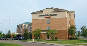 The 126-room SpringHill Suites is at 5901 Wayzata Blvd. in St. Louis Park. The building was constructed in 2001. (Submitted photo: CoStar Group)
