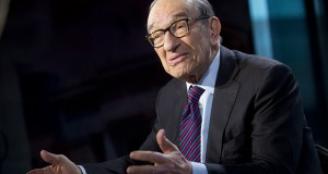 Alan Greenspan, who led the Fed from 1987 to early 2006, says doubts about the future have discouraged some businesses from deploying capital. (Bloomberg News file photo)