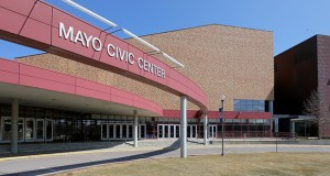 Rochester City Council members are weighing whether they should spend an extra $100,000 to make the Mayo Civic Center ready for solar power during the center's $85 million expansion. (File photo: Bill Klotz)