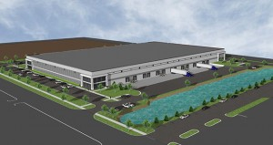 The Trammell Crow Co. won the award for industrial bulk distribution for the Midtown Business Center in Roseville. (Submitted rendering)
