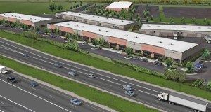 White Bear Lake-based Roberts Management Group plans to use this site at 1235 Red Fox Road in Arden Hills to develop two multitenant industrial buildings totaling 95,000 square feet of space. (Submitted image: Roberts Management Group)