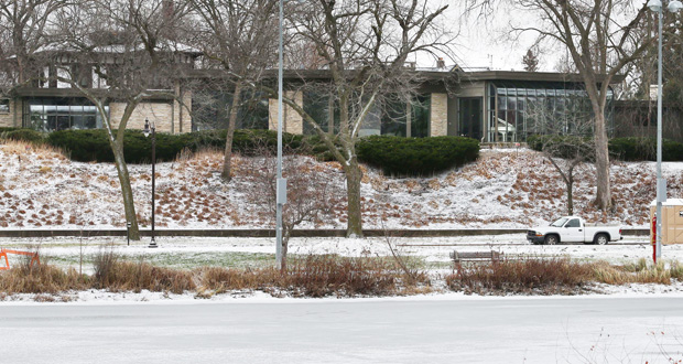 This home at 2505 E. Lake of the Isles Parkway in Minneapolis sold this month for $3.5 million, to owners who plan to replace the 1950s house with a new one. (Staff photo: Bill Klotz)
