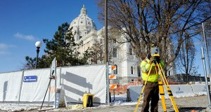 The $272.2 million Minnesota State Capitol restoration, scheduled for completion in 2017, is offering ample challenges for the construction team. (Photo: Craig Lassig)