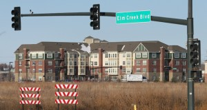 The Opus Group is still hatching plans to develop 40 acres on the northeast corner of Elm Creek Boulevard and Hemlock Lane in Maple Grove. The site is just south of Arbor Lakes Senior Living (background). Staff photo: Bill Klotz