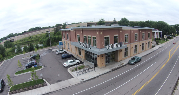 The Goodwill store at 6023 Nicollet Ave. S. in Minneapolis was honored by the Minnesota Shopping Center Association this week for its design and aesthetics. (Submitted photo)
