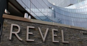 This photo taken Oct. 17, 2012, shows the exterior of the former Revel Casino Hotel in Atlantic City, New Jersey. ACR Energy Partners had told Revel's owners it would cut off service to the building at 5 p.m. Thursday over unpaid bills. But the company and the casino agreed Thursday morning to keep the power and water flowing until a hearing Feb. 11. (AP file photo)